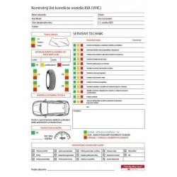 Kontrolný list kondície vozidla