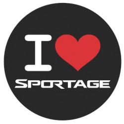 Samolepka Sportage - zrcadlo